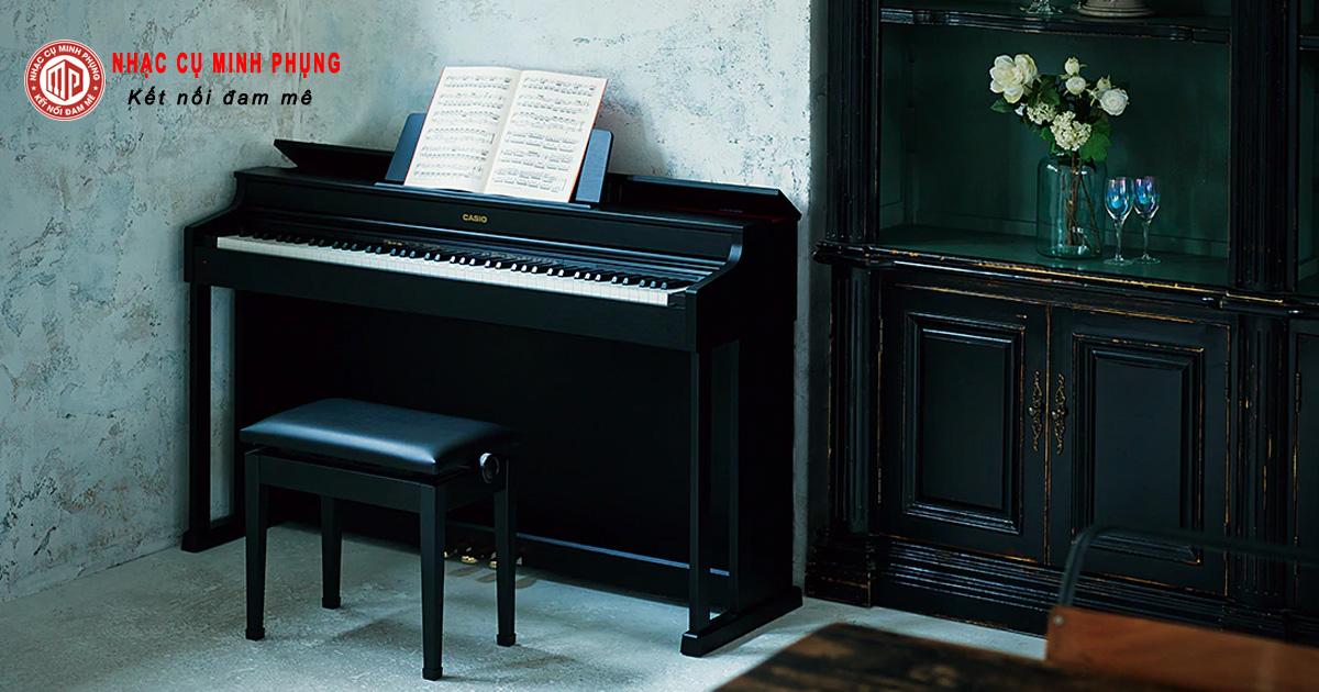 Nên mua đàn piano cơ hay của Casio