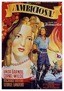 Ambiciosa (1947) Descargar y ver Online Gratis