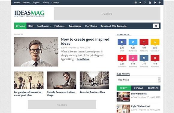 Ideas mag blogger template blogger templates gallery ideas mag blogger template wajeb Image collections