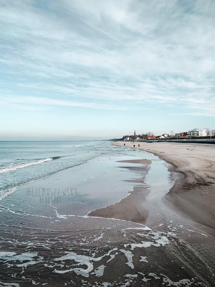 Fale Morze Bałtyckie plaża