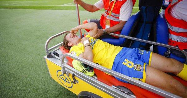 Halilovic lesionado en el tobillo