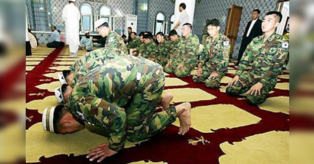 SUBHANALLAH!!! Mengejutkan Kisah Mengharukan Kapten Dan 37 Tentera Korea Selatan Serentak Masuk Islam