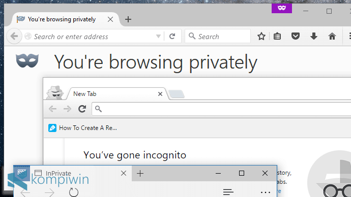 Cara Mengawali Semua Browsers dengan Mode Private-Browsing 18