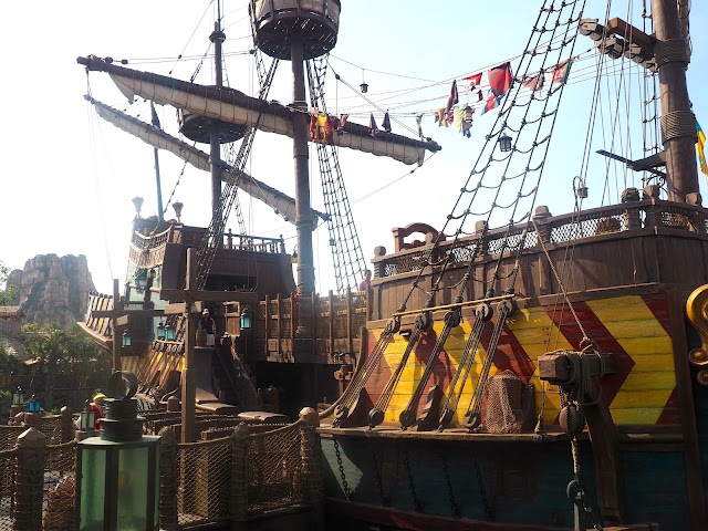 The Siren's Revenge pirate ship, Shanghai Disneyland, China