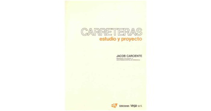 Descargar libro en pdf carreteras - jacob carciente