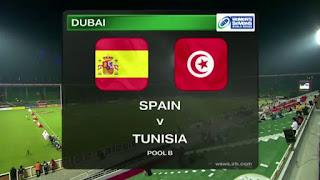 موعد مباراة إسبانيا وتونس الودية السبت 9/6/2018 والقنوات الناقلة