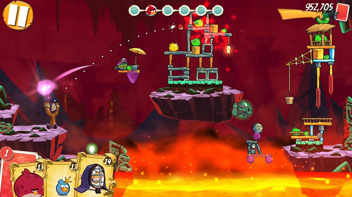 Angry Birds 2 MOD APK terbaru