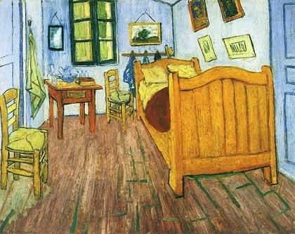 La habitacion de Van Gogh. Rembradt y Van Gogh el arte en Amsterdam