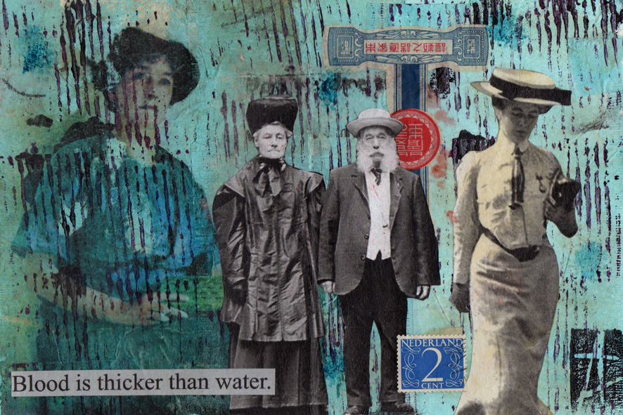 essay on blood is thicker than water