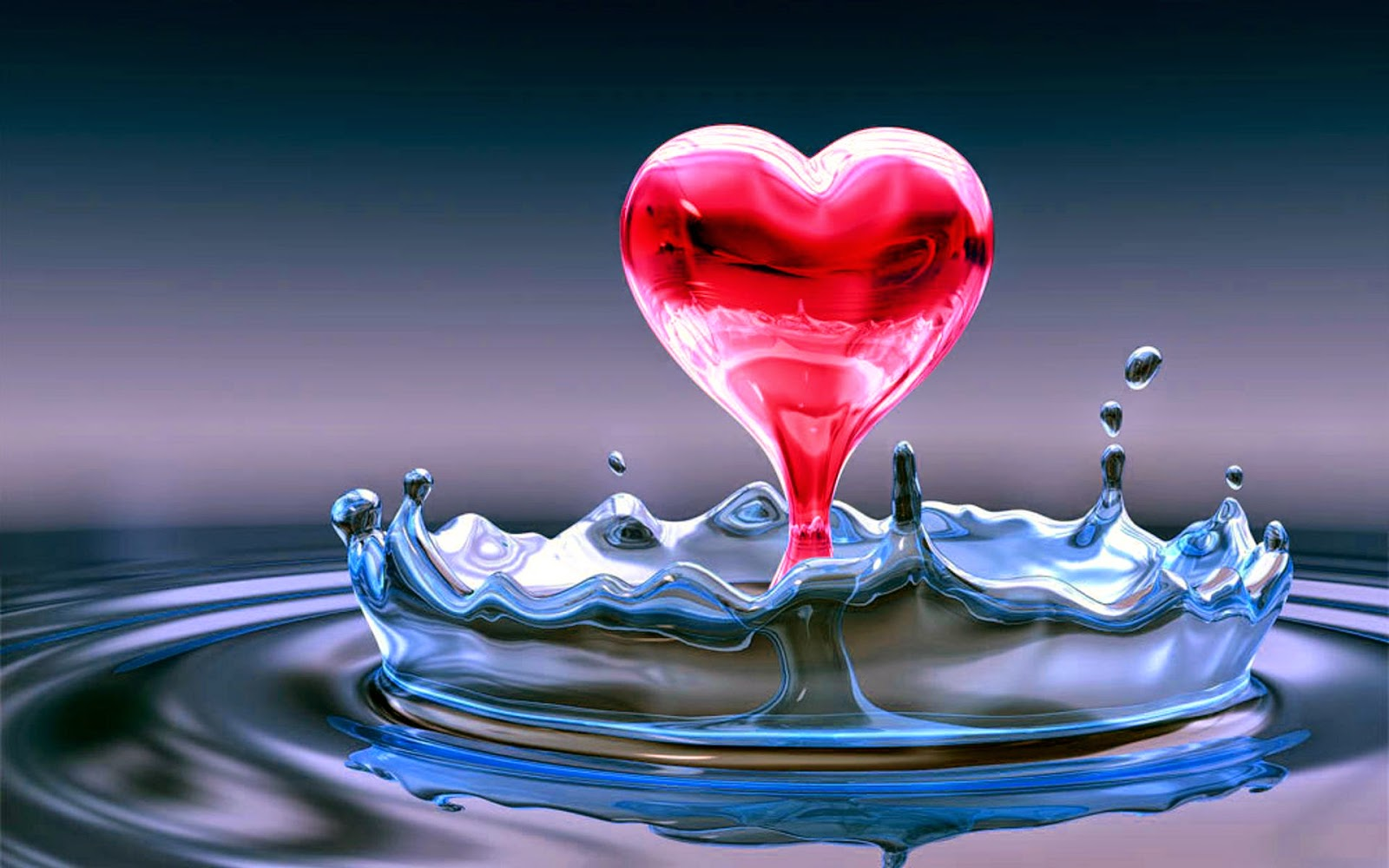 hearts-falling-in-water-hd-wallpaper