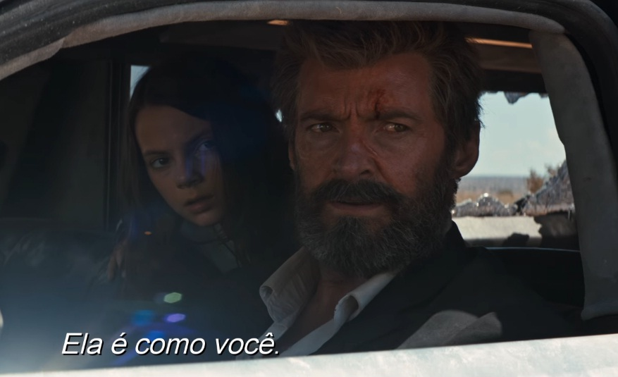 LOGAN MOVIE X23 WOLVERINE TRAILER 2 SECOND - HUGH JACKMAN -  DAFNE KEEN - SHE IS LIKE YOU - ELA E COMO VOCE - LEALTUDO