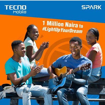 How to Win ₦1 Million Naira With Tecno #LightUpYourDream