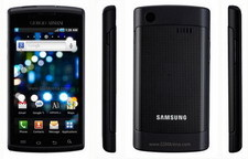 Samsung Giorgio Armani Galaxy S phone announced