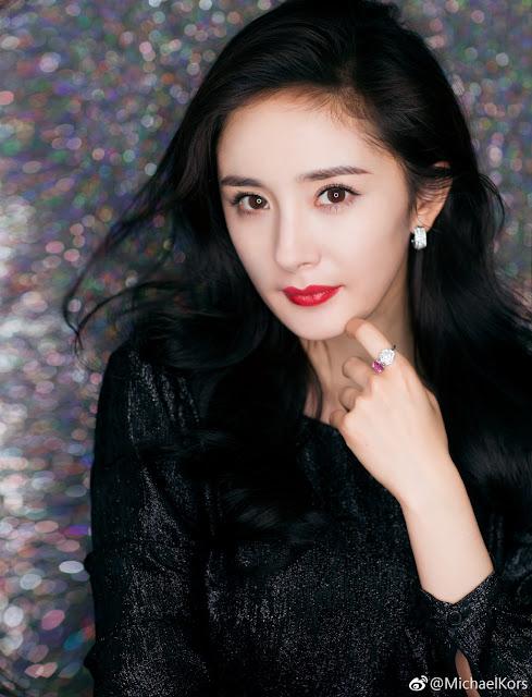 Yang Mi Profile shot