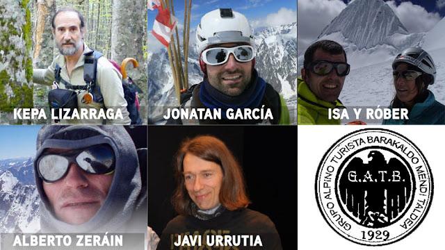 Ponentes en las charlas de la Semana de Montaña del Grupo Alpino Turista Barakaldo
