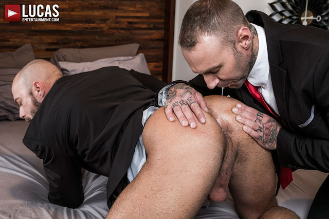 Lucas Entertainment - JESSIE COLTER TAKES RAW DICK AND TOYS FROM DYLAN JAMES