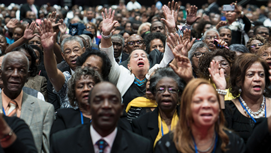5 facts about blacks and religion in America