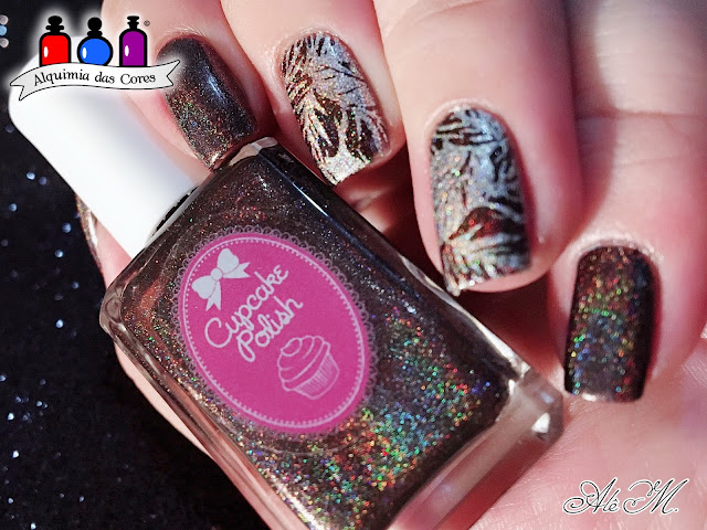 Cupcake Polish, Cupcake Polish Fall 2015 Modern Vampire Collection, Coffin Break, Coletivo, 2018, DRK Nails, Alê M 2018
