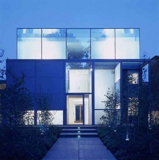Contemporary London Home: Contemporary Architecture Glass House In Highgate Village