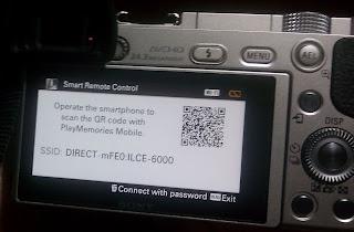 Cara menghubungkan kamera Sony dan aplikasi Sony Playmemories Mobile di Smartphone