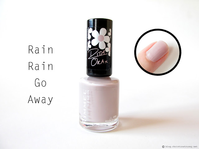 498 Rain Rain Go Away - Rimmel London 60 Seconds Super Shine Nail Polish by Rita Ora Collection
