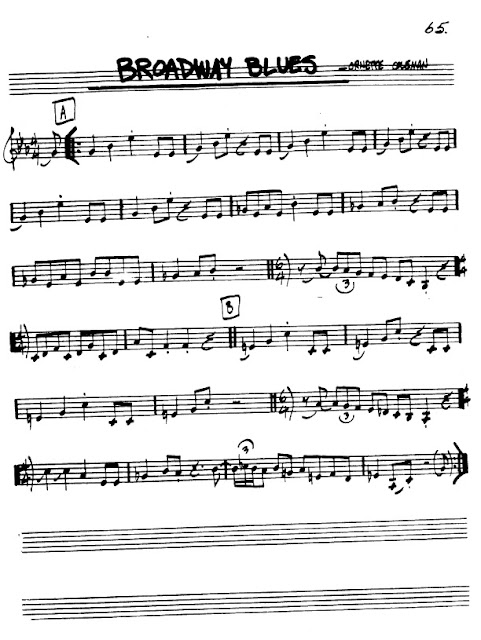 Partitura Violín Ornette Coleman