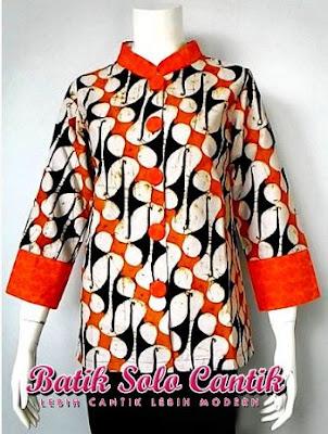 Contoh Batik Solo Cantik Diyanti