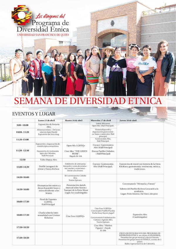 Semana de Diversidad Étnica