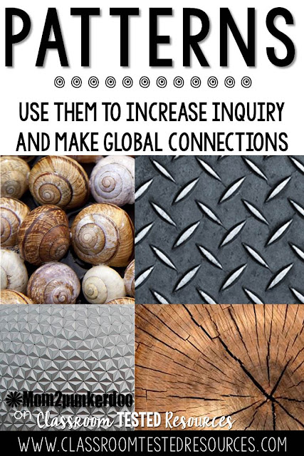 Use patterns to increase inquiry