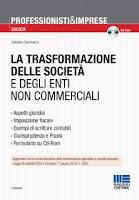 La trasformazione delle società e degli enti non commerciali. Con CD-ROM (Edizione 2016)