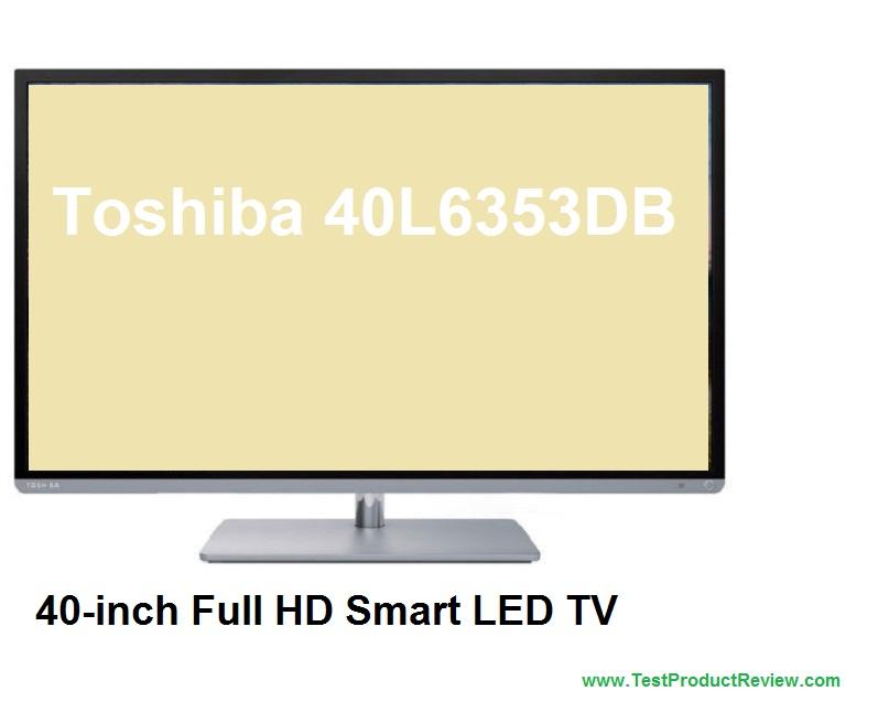 toshiba 40l6353db 40 inch full hd smart led tv price. Black Bedroom Furniture Sets. Home Design Ideas
