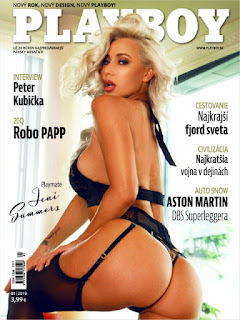 Playboy Eslovaquia - Enero 2019