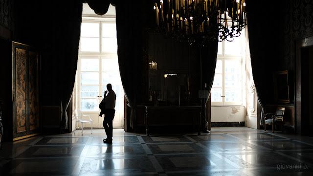 Sala del Palazzo Reale a Napoli