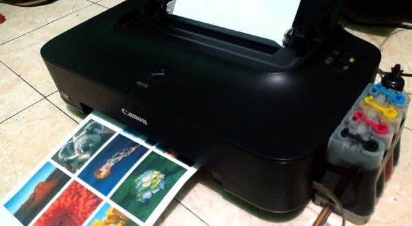 Cara Mengatasi Hasil Cetak Printer Canon IP2770 Sering Bergaris Putus-putus