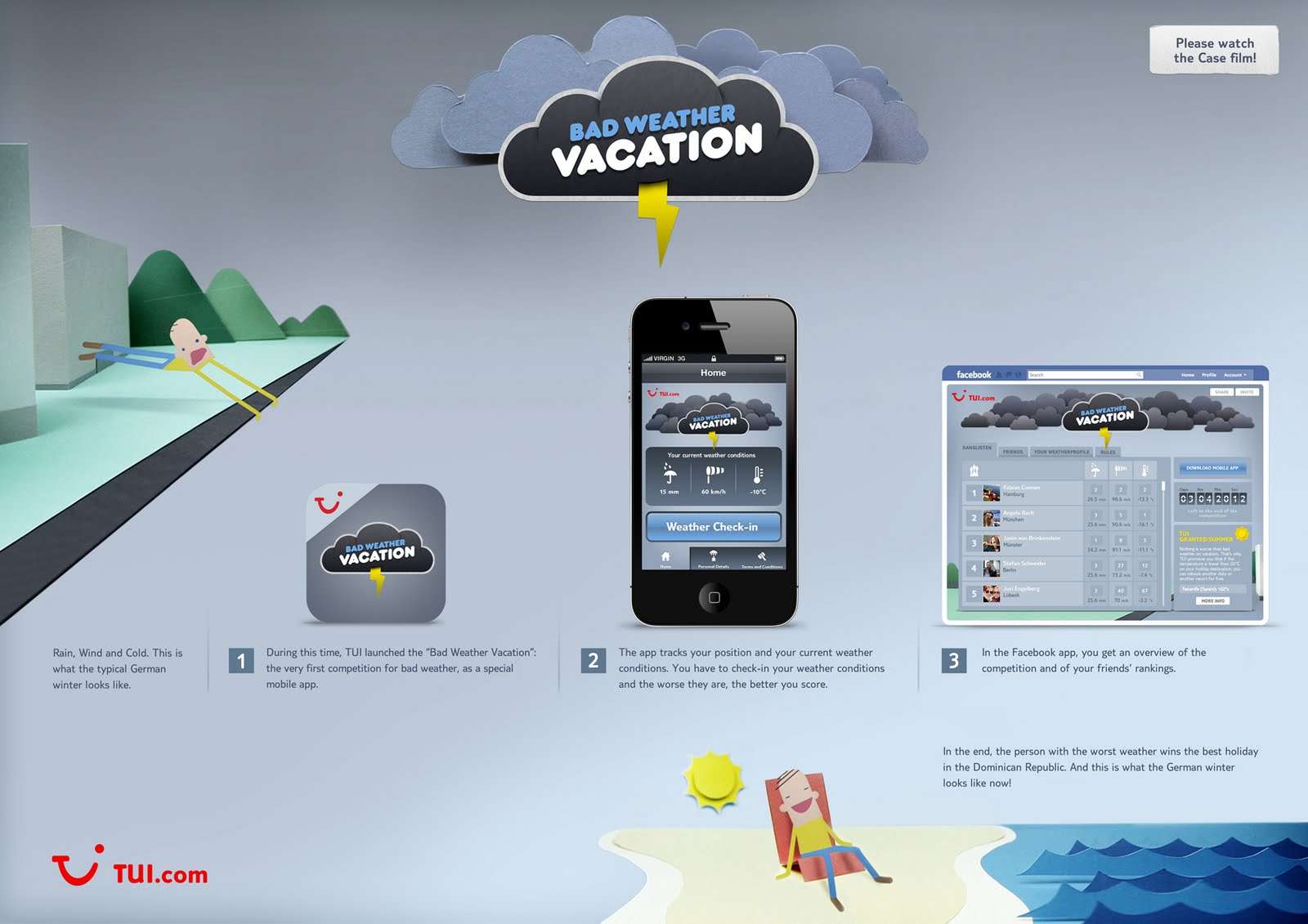 Bad Online Planen Lassen Tui Bad Weather Vacation Case Study