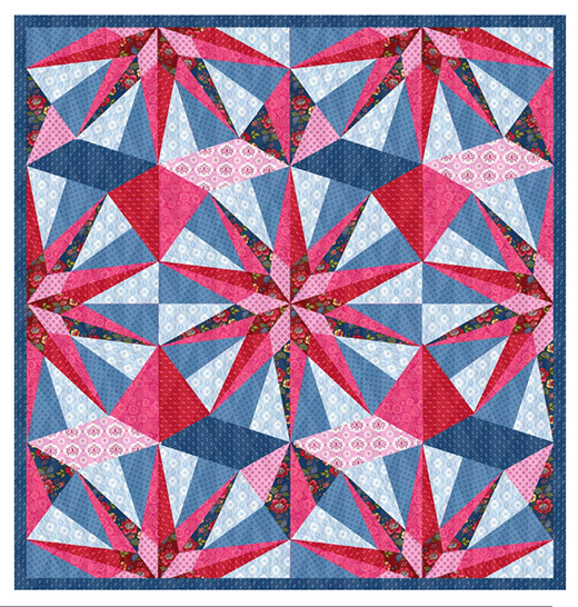 Gem Quilt Free Pattern Designed by Lily Ashbury for Michael Miller Fabrics