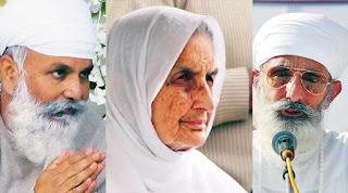 Namdhari Satguru Thakur Uday Singh, Mata Chand Kaur, Thakur Dalip Singh.