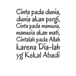 Kata-kata Mutiara Islami Tentang Cinta