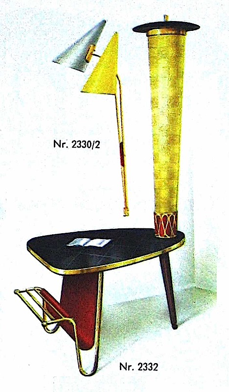 1960 furniture from a German catalog