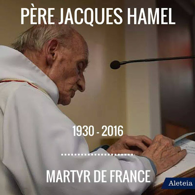 Sebelum Dibunuh, Pelaku Berteriak 'Allahu Akbar' dan Imam Gereja Prancis Dipaksa Berlutut