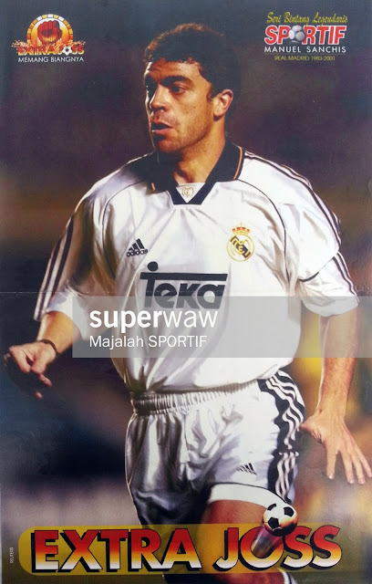 Manuel Sanchis Real Madrid