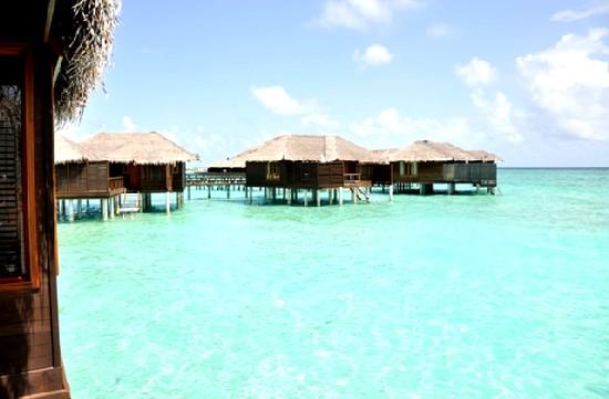 Water villas Maldivas