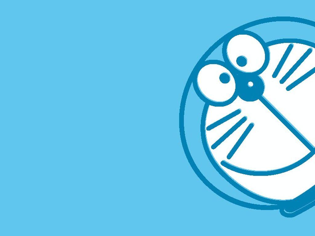 39+ Gambar Doraemon Background Biru, Koleksi Terkini!