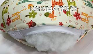 Cấu tạo của gối ôm bà bầu Hahuma có 3 lớp