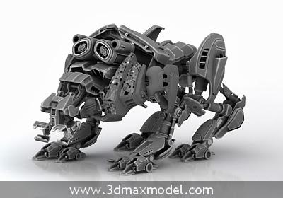 free 3d model robot