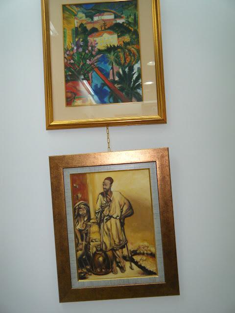 Les peintures de mes élèves à l'expo 21