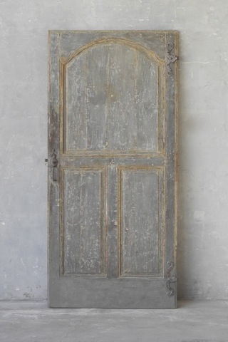 18th Century Door from a Maison Particulaire in Lyon, France as seen on linenandlavender.net