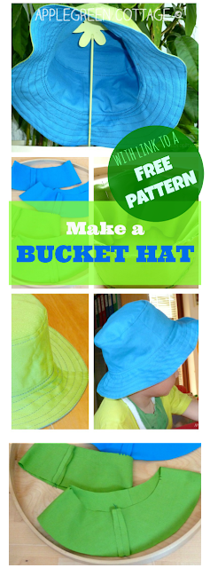 An easy and FREE step-by-step tutorial to make the cutest bucket hat for your kid. Get your FREE PATTERN and updated SIMPLIFIED HOW-TO, appropriate for beginner sewists, too.