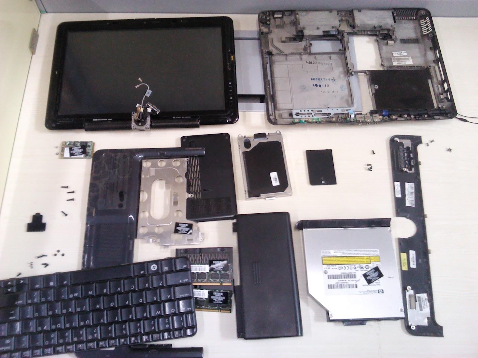 HP laptop GPU overheating problem leading to blank display