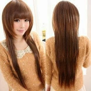 gambar model rambut layer panjang untuk wajah bulat 4e947d5853